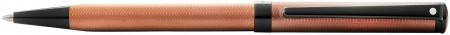 Sheaffer Intensity Ballpoint Pen - Engraved Bronze PVD Trim