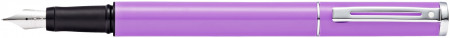 Sheaffer Pop Fountain Pen - Purple Chrome Trim