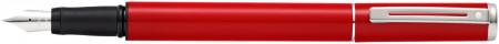 Sheaffer Pop Fountain Pen - Red Chrome Trim
