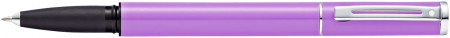 Sheaffer Pop Rollerball Pen - Purple Chrome Trim