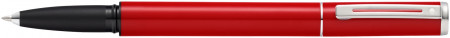 Sheaffer Pop Rollerball Pen - Red Chrome Trim