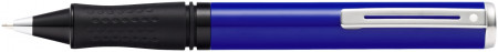 Sheaffer Pop Ballpoint Pen - Blue Chrome Trim
