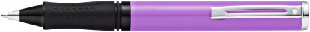 Sheaffer Pop Ballpoint Pen - Purple Chrome Trim