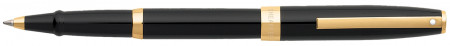 Sheaffer Sagaris Rollerball Pen - Gloss Black Gold Trim