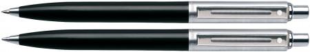 Sheaffer Sentinel Ballpoint Pen & Pencil Set - Black Nickel Trim
