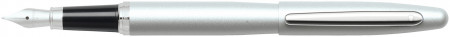 Sheaffer VFM Fountain Pen - Strobe Silver Chrome Trim