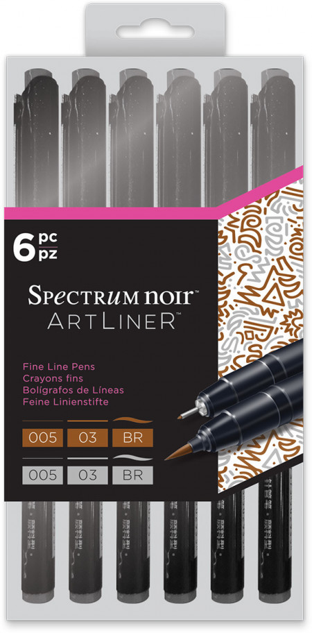 Spectrum Noir Artliner - Neutral (Pack of 6)