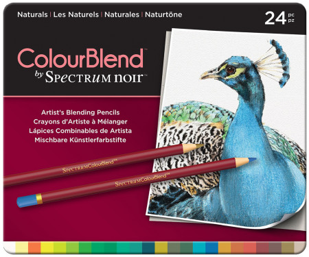 Spectrum Noir Colourblend Pencils - Naturals (Tin of 24)