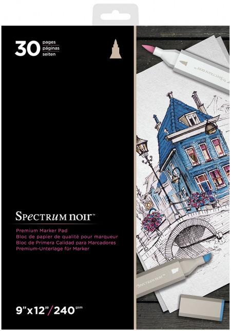 Spectrum Noir Premium Marker Paper Pad - 9 x 12
