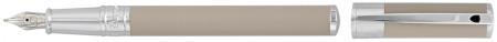 S.T. Dupont D-Initial Fountain Pen - Matte Beige