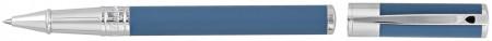 S.T. Dupont D-Initial Rollerball Pen - Matte Shark Blue