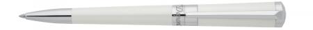 S.T. Dupont Liberte Ballpoint Pen - Pearl White & Palladium