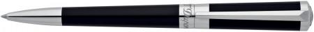 S.T. Dupont Liberté Ballpoint Pen - Black Lacquer Palladium Trim