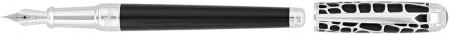 S.T. Dupont Line-D Medium Fountain Pen - Dandy Black