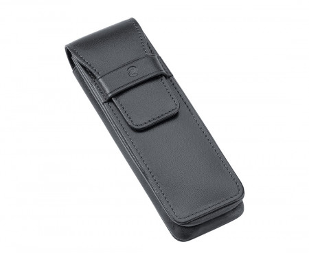 Staedtler Premium Double Leather Pen Pouch - Black