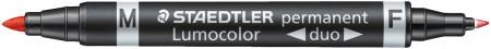 Staedtler Lumocolor Duo Permanent Marker - Bullet Tip