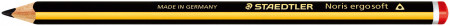 Staedtler Noris Ergosoft Jumbo Triangular Pencil - 2B