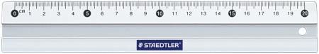 Staedtler Mars Metal Ruler - 20cm