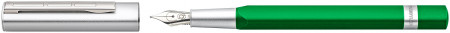 Staedtler TRX Fountain Pen - Green Chrome Trim