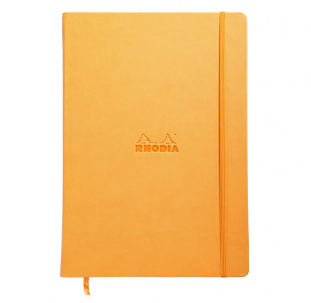 Rhodia Webnotebook- Large Orange - Lined