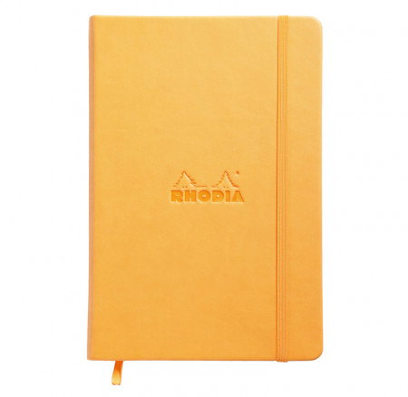Rhodia Webnotebook- Medium Orange - Dotted