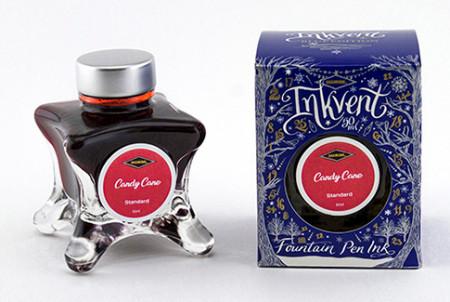 Diamine Inkvent Christmas Ink Bottle 50ml - Candy Cane