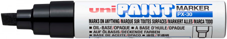 Uni-Ball PX-30 Paint Marker - Bold Chisel Tip