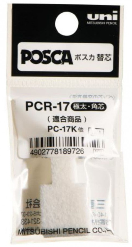 Uni-Ball PCR-17 Replacement Tips for POSCA PC-17K