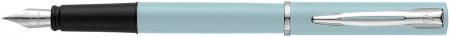 Waterman Allure Fountain Pen - Pastel Blue Chrome Trim