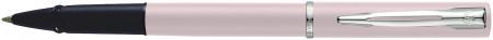 Waterman Allure Rollerball Pen - Pastel Pink Chrome Trim