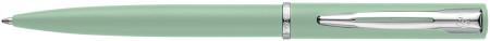 Waterman Allure Ballpoint Pen - Pastel Green Chrome Trim