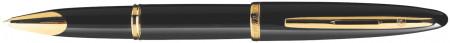 Waterman Carene Rollerball Pen - Black Sea Gold Trim