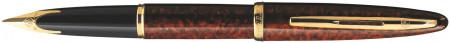 Waterman Carene Fountain Pen - Marine Amber Gold Trim