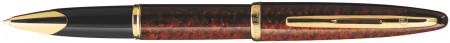 Waterman Carene Rollerball Pen - Marine Amber Gold Trim