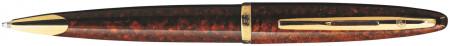 Waterman Carene Ballpoint Pen - Marine Amber Gold Trim