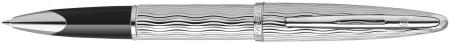 Waterman Carene Rollerball Pen - Essential Silver Chrome Trim