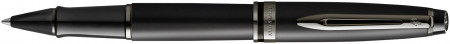 Waterman Expert Rollerball Pen - Metallic Black Ruthenium Trim