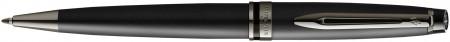 Waterman Expert Ballpoint Pen - Metallic Black Ruthenium Trim