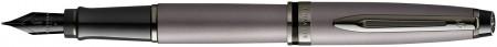 Waterman Expert Fountain Pen - Metallic Silver Ruthenium Trim