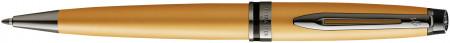 Waterman Expert Ballpoint Pen - Gold Ruthenium Trim