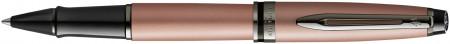 Waterman Expert Rollerball Pen - Rose Gold Ruthenium Trim