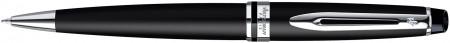 Waterman Expert Ballpoint Pen - Matte Black Chrome Trim