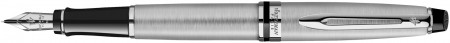 Waterman Expert Fountain Pen - Stainless Steel Chrome Trim