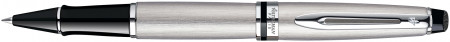 Waterman Expert Rollerball Pen - Stainless Steel Chrome Trim