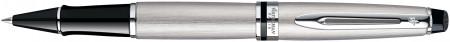 Waterman Expert Rollerball Pen - Stainless Steel Chrome Trim
