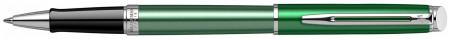 Waterman Hemisphere Rollerball Pen - Chateau Vert Chrome Trim