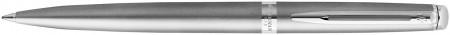 Waterman Hemisphere Essentials Ballpoint Pen - Sandblasted Steel