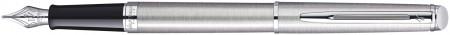 Waterman Hemisphere Fountain Pen - Stainless Steel Chrome Trim