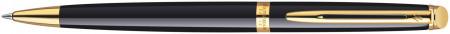 Waterman Hemisphere Ballpoint Pen - Gloss Black Gold Trim