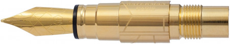Waterman Perspective Nib - Stainless Steel Gold Plated